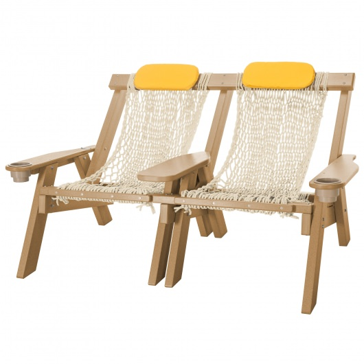 Durawood® Technology Double Rope Chair