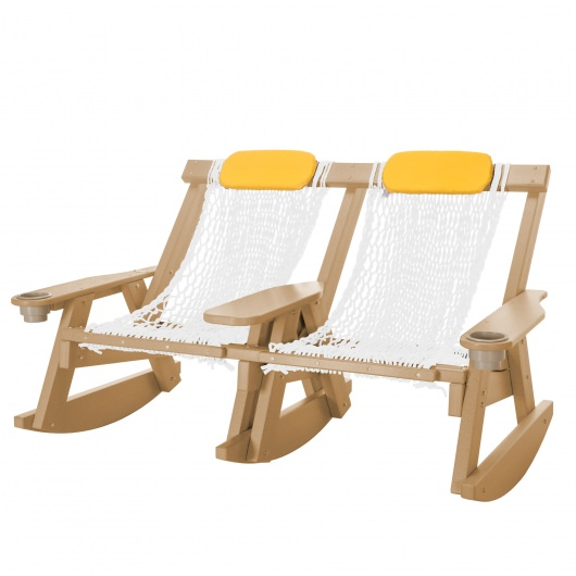 Durawood® Technology Double Rope Rocker