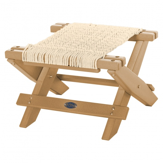 Durawood® Technology Folding Rope Footstool
