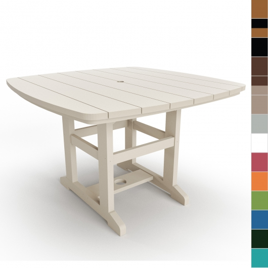 46 in x 72 in Dining Table