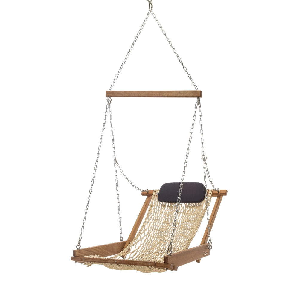 Cumaru Hanging Hammock Chair